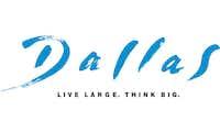 "Dallas has used the ""Live Large. Think Big."" tag line since 2004.Dallas Convention & Visitors Bureau"