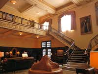 The grand lobby of Hotel Settles can once again host proms and other big parties for the residents of Big Spring, Texas.