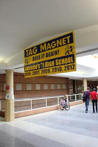 TAG has been rated the top high school in the country five of the last seven years.(Nick Swartsell)