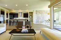 MainVue Homes new houses in Frisco have a clean, modern style.Andrew Richey Photography - MainVue  Homes