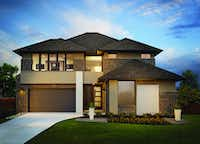 MainVue Homes new houses in Frisco have a clean, modern style.Ripe Studios - MainVue  Homes
