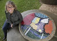 Janeil Engelstad of Make Art With Purpose(Rose Baca - Staff Photographer)