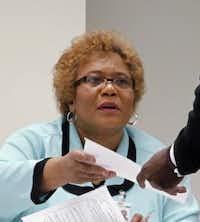 Marian Willard, interim principal at South Oak Cliff High School