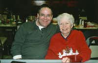 """""""My mom has THE BEST heart, EVER! She was a teacher's assistant for Truett Elementary for 11 years, then at Gill Elementary for another 7 years! She then, unfortunately, developed a muscle disease that drastically altered her life. Up until a year ago or so, she worked Church Day Care at First United Methodist Church Garland for 12 years. Her influence on people, still seen without her presence, ceases to amaze me, as she is possibly the most """"Christ-like"""" person I've ever known! I LOVE YOU, MOM! YOU """"ARE"""" THE BEST!"""" - Richard G. Boone, 47 from Dallas about mom Martha A. Boone, 80."""