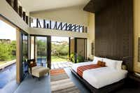 A courtyard villa with private pool at Banyan Tree Mayakoba