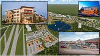 A shopping center, hotels and office campus is included in the 270-acre development plan. (Centurion American)