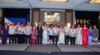 Previous Gintong Alay Award winners are recognized at the celebration of the 116th anniversary of Philippine Republic Day at the Westin Park Central in Dallas.( Jarvis Jacobs )