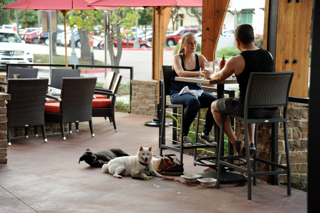 High Quality Al Fresco With Fido: Frisco Says Yes To Dining With Your Dogs | Frisco |  Dallas News