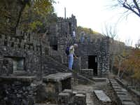 Visitors to Turner Falls can explore the ruins of a castle built in the 1930s by Dr. Ellsworth Collings, who was a professor at the University of Oklahoma.