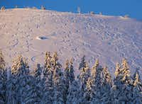 Mount Bachelor, which is 22 miles west of Bend, Ore., has new snow and could stay open until the May 24 close.Pete Alport - Mount Bachelor