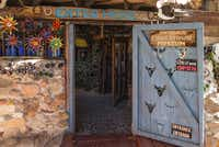 The Tinkertown Museum lies in the Sandia Mountains, 20 minutes northeast of downtown Albuquerque.  Because of cold temperatures, the museum remains open only from April through October.