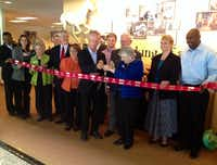 The Irving Chamber held a ribbon cutting for the new location of the Mustangs of Las Colinas Museum.( Deborah Fleck )