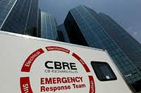 CB Richard Ellis, one of the area's largest property managers, has 15 emergency response trailers with tools, generators and spotlights that can be deployed to its properties nationwide.