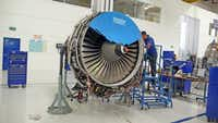 Workers at Safran make airplane engines in the state of Queretaro, which is becoming a leader in the aerospace industry.