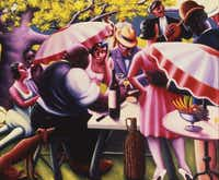 """The Picnic,"" 1936Howard University Gallery of Art - Image copyright Valerie Gerrard Browne"