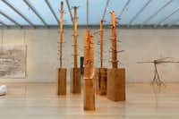 "Giuseppe Penone's  show at the Nasher Sculpture Center, ""Being the River, Repeating the Forest,"" continues through Jan. 10.( Nasher Sculpture Center)"