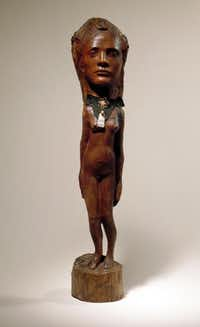Paul Gauguin, Tahitian Girl, ca. Raymond and Patsy Nasher Collection, Nasher Sculpture Center, Dallas, TexasNasher Sculpture Center