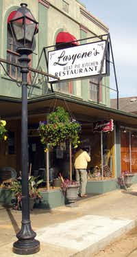 Lasyone's Meat Pie Restaurant opened in 1967 in Natchitoches, La.
