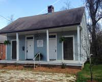 Vera's Guest House is just a few doors down from the stores of Front Street in Natchitoches, La.