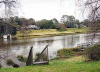 Cane River Lake in Natchitoches, La. used to be part of the Red River, until the river changed course. Now it's a lake.
