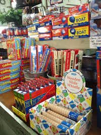 Kaffie -Frederick General Mercantile in Natchitoches, La. stocks lots of vintage-style toys to appeal to kids of all ages.