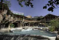The newest accommadations at Schlitterbahn New Braunfels include the Treehaus Resort, a new upscale lodging experience nestled on the banks of the spring-fed Comal River; incredible tree-top views and exciting guest amenities. Treehaus' can sleep up to 12 guests in the three bedroom/two bath units.