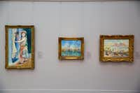 """Impressionist paintings recently installed in the new galleries of the Clark Art Institute's Museum Building""( Tucker Bair  -  Tucker Bair )"