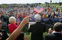 Newt Gingrich held a meet-and-greet with voters at the PGA Center for Golf Learning and Performance in Port St. Lucie, Fla.