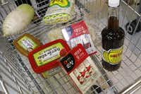A large variety of food and groceries are carried at H Mart in Korean town in Carrollton.(Lawrence E. Jenkins - Special Contributor)