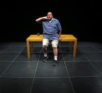Actor Steven Young takes Mike Daisey's role but brings a more relaxed presence that works well.