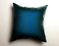 Anthropologie's ombre velvet pillow. Sky, $198.