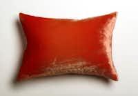 Anthropologie's ombre velvet pillow. Small, $188.