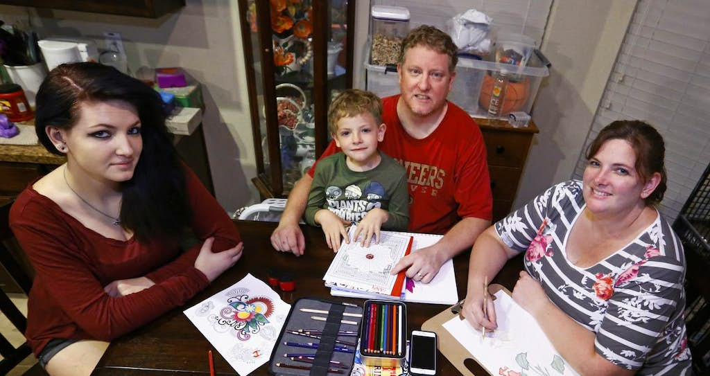 Adult Coloring Books Hit Best Seller Lists