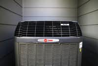 The 16 SEER variable-speed HVAC system is one of Greenbrook Homes'  eco-friendly features.