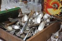 At flea markets in Provence, Friedman will pick through boxes of antique silver.(Courtesy Audrey Friedman -  Audrey Friedman )