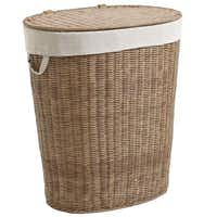 When jeans and t-shirts pile up, a handsome hamper keeps them hidden. The Collin hamper is 25 inches tall and hand-woven of moisture-resistant, synthetic rattan with a fabric liner. $79.95 in light or dark brown at local Pier 1 stores and pier1.com.(Pier 1 Imports -  Pier 1 Imports )