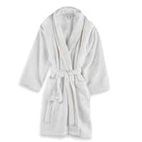 The walk to the communal bath will be more comfortable with a soft terry robe. Made of plush, zero-twist cotton, the unisex, one-size-fits-all robe is a staple for dorms. Wamsutta unisex terry robe in white, $69.99, at local Bed, Bath & Beyond stores and bedbathandbeyond.com.(Bed, Bath & Beyond -  Bed, Bath & Beyond )