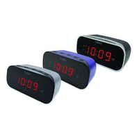 When waking up for an early morning class is a challenge, a Timex alarm clock can jolt a student out of sweet dreams. Its extra loud alarm and well-lit, 1.7-inch numbers are hard to ignore. A battery backup system guards against power failures. $12.99 at local Bed, Bath & Beyond stores and bedbathandbeyond.com.Bed, Bath & Beyond -  Bed, Bath & Beyond