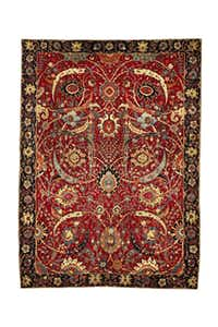The sale of a 17th-century Persian rug at Sotheby's in June set an auction record of $33.76 million.