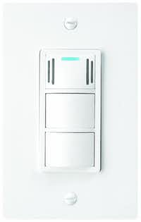 The DewStop Humiditiy and Condensation Fan Switch has a built-in sensor that automatically turns on the exisiting bathroom exhaust fan in response to a high level of condensation.