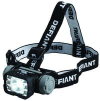 For those tricky fix-it projects, offer the Defiant 7 LED headlight with adjustable head strap and pivoting lamp for easy, hands-free lighting. It has four modes: spot, flood, green, and red for night vision. $17.97 at Home Depot stores and homedepot.com.