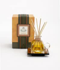 A spicy blend of clove, zest of bitter orange, and cypress combine in a petite reed diffuser. Perfect for enhancing her bedroom or bath, the Agraria bitter orange diffuser includes an Italian perfume bottle with glass stopper and hand-made, antiqued mirrored tray. Additional fragrances available. $45 at Neiman Marcus (multiple locations) and neimanmarcus.com