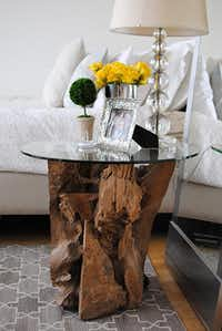 Driftwood side table( Homepolish )