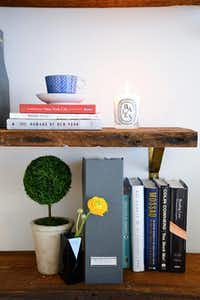 Shelves made from salvaged woodHomepolish