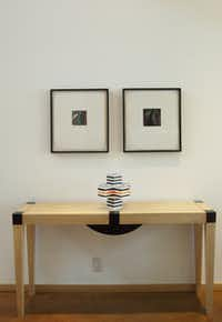 Ken Maxwell commissioned this table and art installation