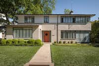 4504 Bordeaux Ave., built in 1938, was designed by the late Dallas architect Howard Meyer.Trevor Kobrin