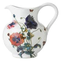"""Field of Flowers"" by Juliska, microwave/oven/freezer/refrigerator safe ceramics, large pitcher, $148, Neiman Marcuscourtesy Juliska - Juliska"