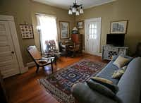 AN upstairs room of Jackie and Doug Sweat's home on Junius Street in Munger Place  on Tuesday, August 27, 2013.