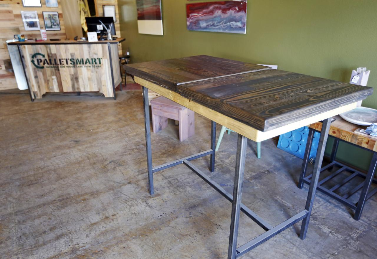 Firm creates custom furniture from pallets
