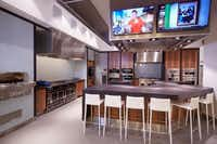 The Savor department features a spectrum of cooking appliances and a demonstration kitchen.Darin Fong Photography
